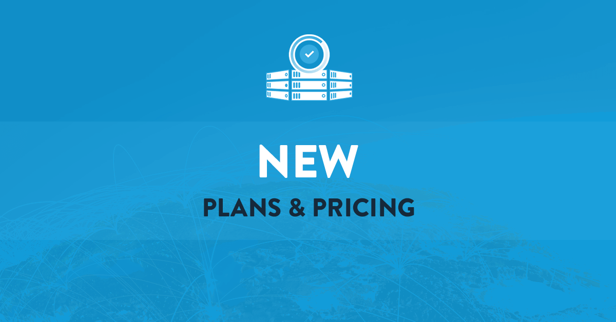 New VPS pricing plans