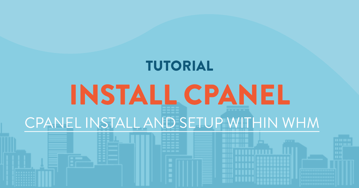 Creating and Modifying a new cPanel account from within WHM