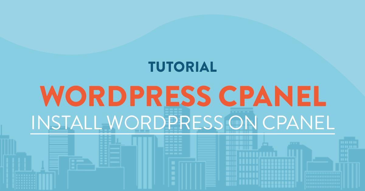 Install Wordpress On Cpanel Vpsserver Com