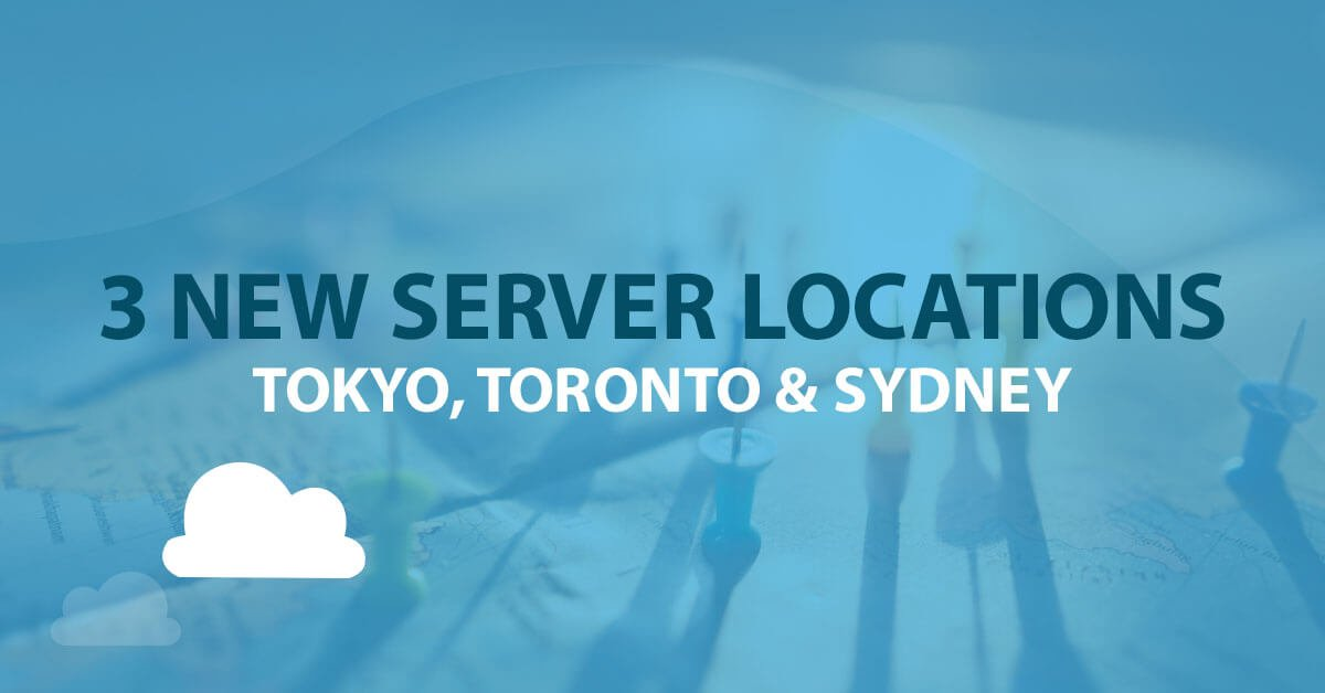 3 New VPS Server Locations