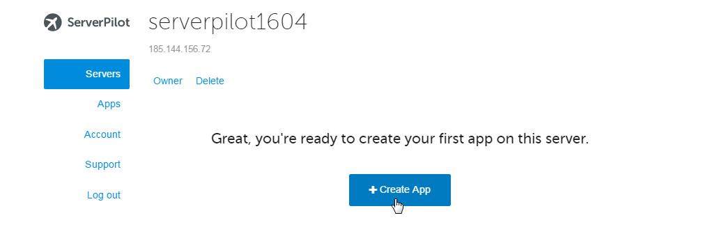 ServerPilot is installed
