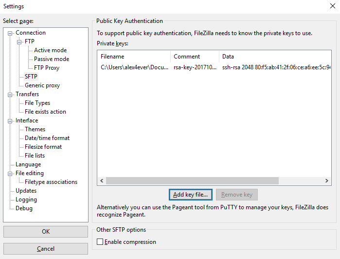 Using SFTP protocol to access file on your VPS with Filezilla client